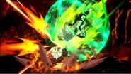 Impacto Gigantesco Broly DBS FighterZ 2
