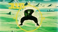 La Forza Combattiva di Piccolo aumenta mentre lui carica il Makankosappo