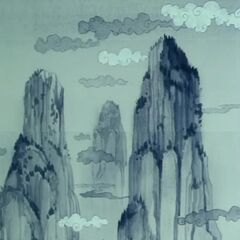 Il Monte Paozu nel manga