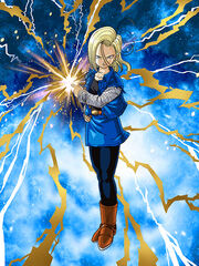 Dokkan Battle Dastardly Demoness Android 18 (Future) card