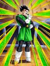 Dokkan Battle Full Fighting Spirit Interception Great Saiyaman card (Unmasked Great Saiyaman SSR-UR)