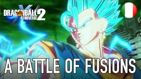 Dragon Ball Xenoverse 2 - PS4 XB1 PC - A battle of fusions (DB Super Pack 4 Italian Trailer)