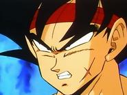 Freezer recuerda a Bardock al ver a Goku