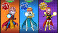Zen, Fen et Wairu (Super Class-Up)