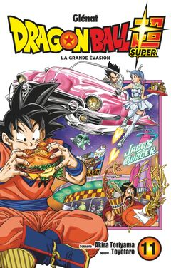 Couverture Dragon Ball Super Tome 11