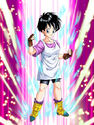 Dokkan Battle Mesmerizing Might Videl card (World Tournament Videl SR-SSR)