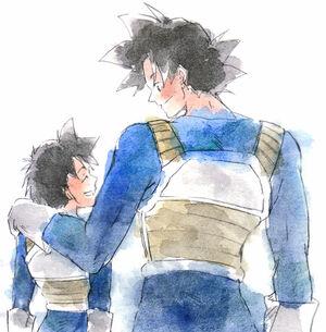 Goku Gohan Fanart