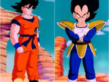 Son Goku vs. Vegeta
