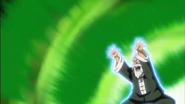 DB Super Episode 62 Master Roshi (King Piccolo Saga) Evil Containment Wave (''Future'' Trunks Saga - Flashback)