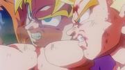 Goku Encouraging his Son