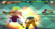Goku SSJ vs Broly BT3