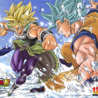 Illustrazione colorata disegnata da Toyotaro.