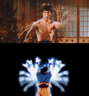 Son Goku - Bruce Lee comparación