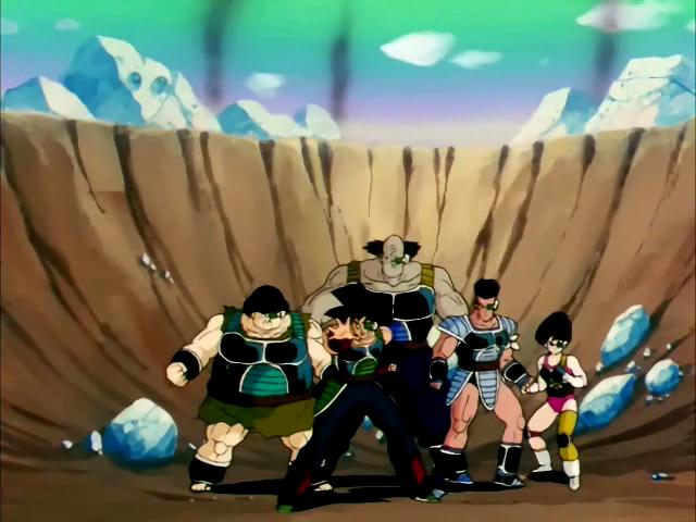 Bardock's Planet Elite Force | Dragon Ball Wiki | FANDOM ...