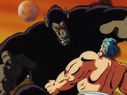 Goku Oozaru vs Jackie Chun