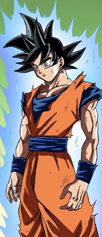 Goku UI Sign