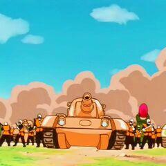 I carri armati delle Milizie Terrestri.