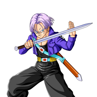 Trunks del Futuro in Dragon Ball Z.