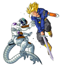 Trunks vs mecha freezer by bardocksonic-d6p599u-0