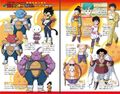 ''Yo! Son Goku and His Friends Return'' - characters designs and bios pages 3-4