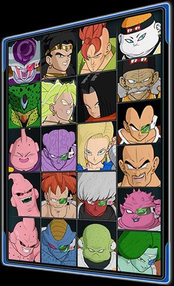PersonajesRagingBlast2