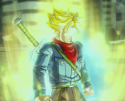 Super Saiyan Rage Trunks in Xenoverse 2