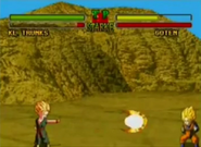 Trunks Ataque Big Bang (Ultimate Battle 22)