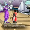 Xenoverse 2 - Cooler describes Dore and Neiz's homeplanets