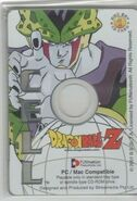 Cell - Dragon Ball Z Collectible CD Picture Cards