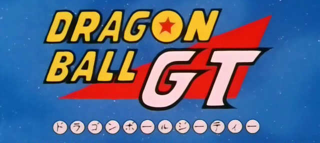Dragon Ball GT Opening Title Card