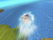 Goku volando en dbz B3