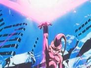 Pequeño Buu utilizando el Exterminio de la Humanidad en Final Bout