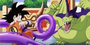 DBK Goku VS Giran