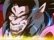 Goku si trasforma in SS4