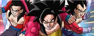 Super Saiyajin 4 Gohan Goku Vegeta