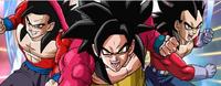 Super Saiyan 4 Gohan Goku Vegeta