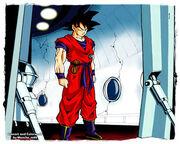 Goku namek colored by moncho m89