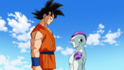 Goku Reconfronts Frieza
