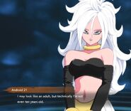 Is Android 21 under 10?
