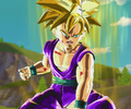 Gohan powers up for Cell (XV)