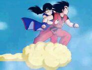 Goku y Chi-Chi en la Nube Kinton DB fin
