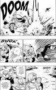 Showdown! Zarbon kicks away a soldier
