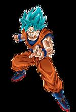 Super Saiyan Azul Artwork