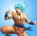 Goku SSj Dios Azul DB ZB
