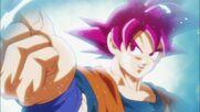 Goku altera las fases entre SS Azul y SS Dios 2