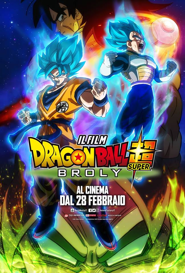 Locandina Dragon Ball Super Broly