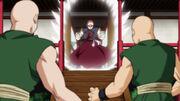Tenshinhan tiene una lezione ai suoi studenti