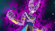 Beerus releases power