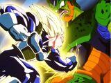 Super-Vegeta vs. Cell Segunda Forma