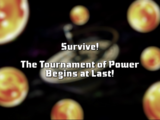 Survive! The Tournament of Power Begins at Last!